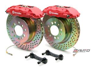 Brembo Front GT Brake BBK 4pot Red 326x30 Drill Disc for FRS FR-S BRZ 86 12-17