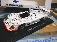 PORSCHE 936 936/81 Le Mans 1981 Winner #11 ickx Bell Jules Shell Spark 1:43