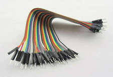 40 Dupont Prototype Cable Male/Male Macho/Macho 200mm Arduino