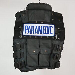 Paramedic Adjustable Utility Vest Tactical Response Side Straps