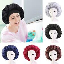 Seidensatin Frauen Nachtschlafhaar Haare Motorhaube Hut Kopfbedeckung Breites Ba