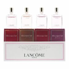 Lancome Miracle 4pcs Gift Set For Women (EDP 5ml  EDP 5ml  EDP 5ml  EDP 5ml)