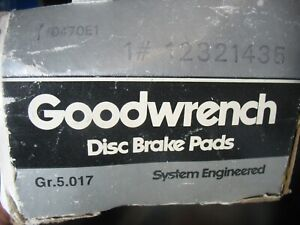 Goodwrench 12321435 GR.5.017 Disc Brake Pads