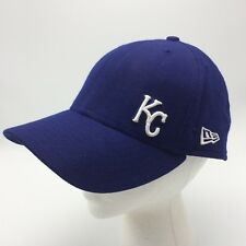 uk availability daffe 7e409 New Era 59FIFTY Kansas City Royals Cap Hat Blue 7 3 8 MLB Wool Curved