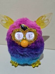 Hasbro Furby Boom Crystal Series Ombré Pink, Purple & Blue Electronic Pet Toy
