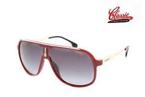 Carrera 1007/S C9A 9O Red Gold Frame with Grey Gradient Lens Mens Sunglasses