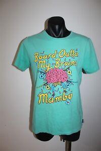 Mambo Board Outta My Brains Youth T-Shirt Size 16 Kids