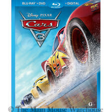 Disney Pixar Cars 3 Blu-ray DVD Digital Copy Combo Pack with Slipcover Included