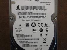 Seagate ST9320325ASG 9KAG33-041 FW:0006APM2 WU Apple#655-1571A 320g Sata HDD