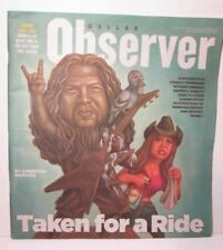 Dallas Observer Magazine June 2016 Dimebag Darrell Taken for a Ride Pantera Rare