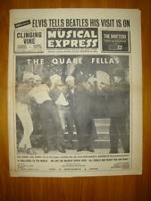 NME #921 1964 SEP 4 ELVIS BEATLES VISIT QUARE FELLAS