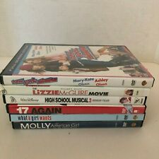 Teen Kids LOT 6 Movies 17 Again Lizzie McGuire NY Minute What a Girl Wants