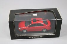 ZC961 Minichamps 400166200 Voiture Miniature 1/43 Toyota Avensis 2002 Red Rouge