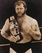 Pro Wrestler HARLEY RACE Glossy 8x10 Photo Wrestling Champion Print NWA Poster