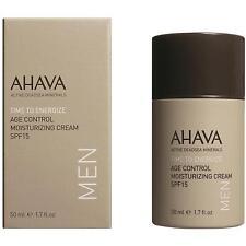 AHAVA AGE CONTROL MOISTURIZING FACE CREAM SPF15 50ML MEN'S DEADSEA ANTI-AGING