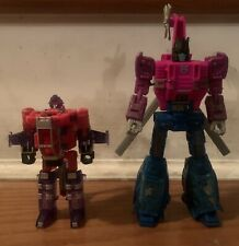 Transformers Toys Generations War for Cybertron Deluxe Spinister MIX LOT.