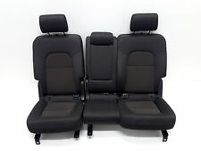 Original Audi Q7 4L Innenausstattung Rückbank Rücksitze Stoff Stoffsitze seats