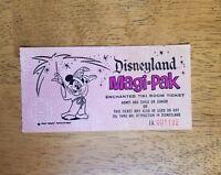 RARE Walt Disney Disneyland Vintage Enchanted Tiki Room Ticket