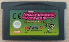 Las Chicas Superpoderosas: él y buscar | Gameboy Advance GBA | * solo carro * PAL Reino Unido