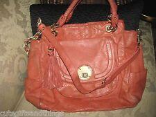 Elliott Lucca Purse Leather Satchel crossbody handbag CUTE EUC #41