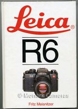 Hove Leica R6 Camera & Lens System Guide More Instruction Books & Manuals Listed
