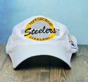 Vintage Pittsburgh Steelers Football Snapback Hat The Game 90's Retro Cap NFL 🔥