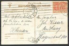 2½ CT. DE RUIJTER NR.89, MACHINEST. 'S GRAVENHAGE 20.4.07 OP LOKALE AK. Ab970
