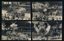 Switzerland MONTREUX Carnival x7 c1910/20s? RP PPCs