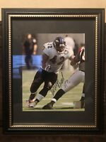 Authentic Lorenzo Neal Baltimore Ravens Signed Autographed 8x10 Photo Framed