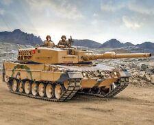 Kit maqueta Leopard 2A4 1 35 Italeri ref. 6559 Calcas Españolas