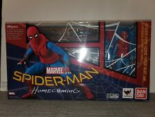 S.H. Figuarts Marvel Spider-Man (Homemade Suit Ver.) & Tamashii Option Act Wall