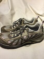 Merrell Women's Siren Ventilator Elephant /Pink Leather iWalking Shoes 11