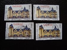 SUEDE - timbre yvert et tellier n° 2021 x4 obl (A29) stamp sweden (T)