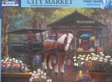 Sambataro White Mountain Jigsaw Puzzle City Market NIB