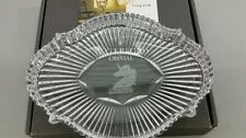 "NIB WATERFORD CRYSTAL 8"" UNICORN ACCENT DISH TRAY PLATE~IRELAND"
