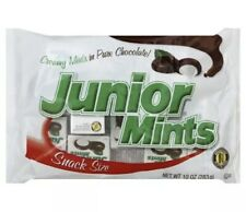 Junior Mint CHOCOLATE Candy Snack Size Bulk Bag 10 Oz