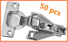 National Hardware Concealed Cabinet Hinge in Plain Steel Soft Close hinges 50 lo