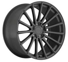 20x8.5/10 TSW 5x112 +32/40 Gunmetal Wheels (Set of 4)