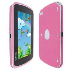 Skinomi TechSkin - Pink Carbon Fiber Skin & Screen Protector for LeapFrog Epic