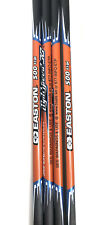 EASTON Super lite CARBON Lightspeed 500 Carbon Arrows GPI 6.5 Set Of 4 Archery
