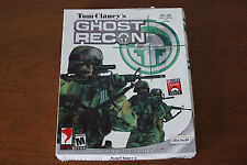 Tom Clancy's Ghost Recon (PC, 2001) Big Box Complete CIB