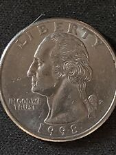 1998 Ddo Two Heads On This Quarter Rare Ddr