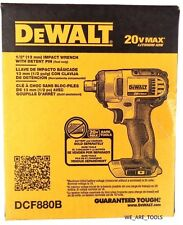 "NEW IN BOX Dewalt 20V DCF880 Cordless 1/2"" Battery Impact Wrench 20 Volt Drill"
