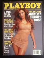 "Playboy Magazine ""Angelica Bridges Nude"" November 2001 Vintage Issue"