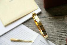 Authentic*Cartier*18k*Yellow*Gold*Love*bracelet*17