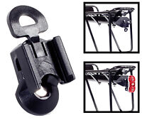 NEW CYCLE LIGHT BRACKET FOR REAR CARRIER RACK - FITS TURA LUNDY REAR LIGHT