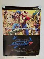 Wild Arms Alter Code F Official Promo Poster Very Rare Collector Worthy Amazing!