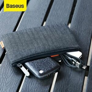 Baseus Portable Mobile Phone Pouch Bag Case For Cell Phone Accessories Storage
