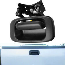 Tailgate Handle and Bezel Trim Kit Set Fit For 99-07 Chevy Silverado GMC Sierra