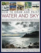 How to Draw and Paint Water and Sky: Learn to Draw a Variety of Scenes, from a R